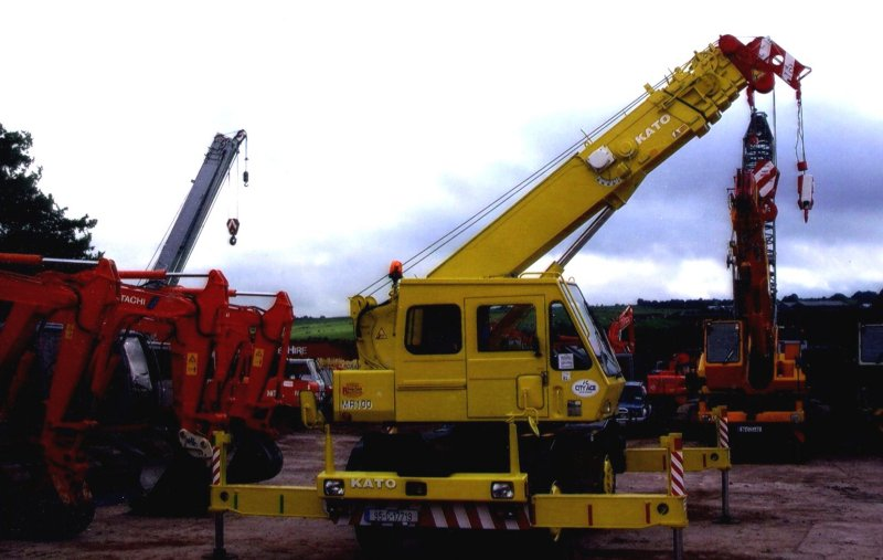 What Are The Different Types Of Cranes : Crane gallery from beattie hire company belfast and